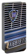 1967 Lancia Fulvia Berlina Grille Emblem Portable Battery Charger