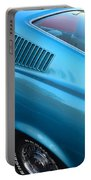 1968 Ford Mustang Fastback  Profile Portable Battery Charger