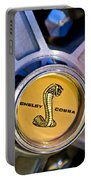 1968 Ford Shelby Gt500 Kr Convertible Wheel Emblem Portable Battery Charger
