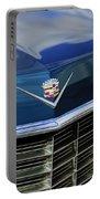 1969 Cadillac Hood Emblem Portable Battery Charger
