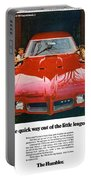 1970 Pontiac Gto - The Quick Way Out Of The Little Leagues. Portable Battery Charger
