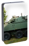 A Belgian Army Piranha IIic Portable Battery Charger