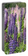 A Field Of Lupins Portable Battery Charger