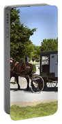 Amish Buggies Portable Battery Charger