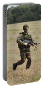 Belgian Paratroopers Proceeding Portable Battery Charger