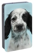 Border Collie X Cocker Spaniel Puppy Portable Battery Charger