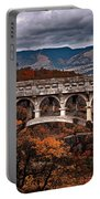 Bridge Over Autumn Portable Battery Charger