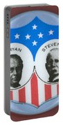 Bryan Campaign Button Portable Battery Charger