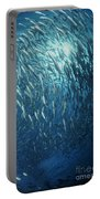 Circling School Of Jacks Trevally Portable Battery Charger