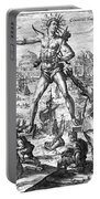 Colossus Of Rhodes Portable Battery Charger