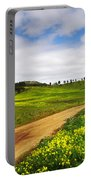 Countryside Landscape Portable Battery Charger by Carlos Caetano