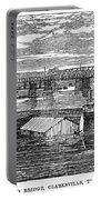 Flood: Clarksville, 1874 Portable Battery Charger