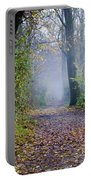 Foggy Road Portable Battery Charger