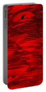 Gentle Giant In Negative Red Portable Battery Charger