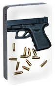 Glock Model 19 Handgun With 9mm Portable Battery Charger