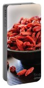 Goji Berries Portable Battery Charger