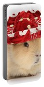 Guinea Pig Wearing A Hat Portable Battery Charger