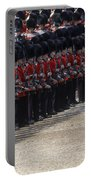 Irish Guards March Pass During The Last Portable Battery Charger by Andrew Chittock
