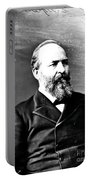 James A. Garfield, 20th American Portable Battery Charger