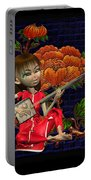 Japanese Woman Portable Battery Charger
