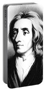 John Locke, English Philosopher, Father Portable Battery Charger by Science Source