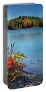 Killarney Provincial Park In Fall Portable Battery Charger