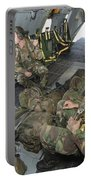 Members Of The Pathfinder Platoon Portable Battery Charger