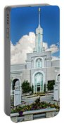 Mt Timpanogas Temple Portable Battery Charger
