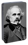 Nathaniel Hawthorne, American Author Portable Battery Charger