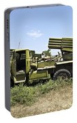 Old Russian Bm-21 Launch Vehicle Portable Battery Charger
