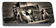 Old Truck At Bodie Portable Battery Charger