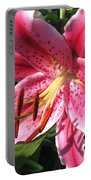 Oriental Lily Named Tiber Portable Battery Charger