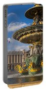 Place De La Concorde Portable Battery Charger