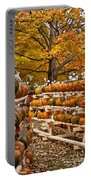 Pumpkin Festival Portable Battery Charger