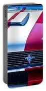 Red 1966 Ford Mustang Shelby Portable Battery Charger