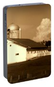 Cattle Farm Mornings Portable Battery Charger