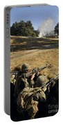 Seabees Defend Their Camp Portable Battery Charger
