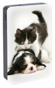 Sleeping Puppy Portable Battery Charger