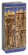 St. Catherine, Italian Philosopher Portable Battery Charger by Photo Researchers