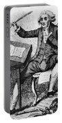 Thomas Paine, American Founding Father Portable Battery Charger by Photo Researchers