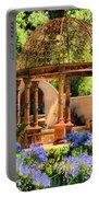 Tuscan Garden Portable Battery Charger