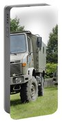 Unimog Truck Of The Belgian Army Portable Battery Charger