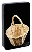 Wicker Basket Portable Battery Charger