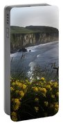 Wildflowers At The Coast, County Portable Battery Charger
