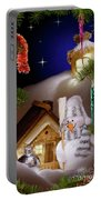 Wonderful Christmas Still Life Portable Battery Charger