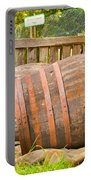 Wooden Barrels Portable Battery Charger