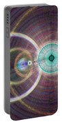 Circle Art Portable Battery Charger