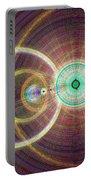 Circle Art Portable Battery Charger