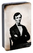 Abraham Lincoln, 16th American President Portable Battery Charger