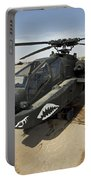 An Ah-64d Apache Helicopter At Cob Portable Battery Charger